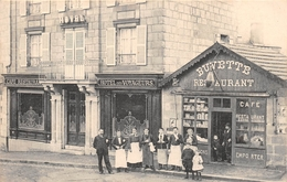 ¤¤   -  GUERET ???   -  Café, Restaurant , Hôtel Des Voyageurs    -  ¤¤ - Guéret