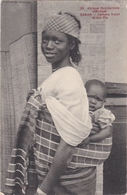 CPA SENEGAL DAKAR Femme Volof Et Son Fils - Senegal