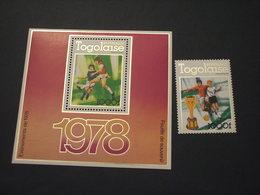 TOGO - 1978  CALCIO + BF - NUOVO(++) - Togo (1960-...)