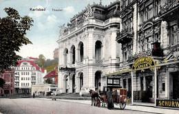 Tchéquie - Karlsbad - Theater - Tchéquie