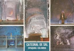 CATEDRAL DE SAL. ZIPAQUIRA COLOMBIA. MULTI VISTA VIEW VUE. MOVIFOTO.-TBE-BLEUP - Colombia