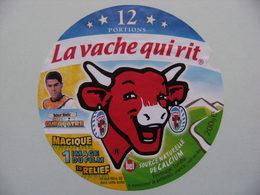 Etiquette Fromage Fondu - Vache Qui Rit - 12 Portions Bel Pub Astérix&Obélix Mission Cléopatre Et Debouze  A Voir ! - Cheese
