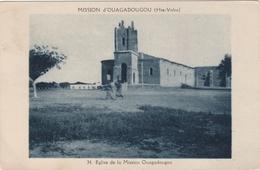 CPA N°34 BURKINA FASO OUAGADOUGOU Eglise De La Mission Ouagadougou - Burkina Faso