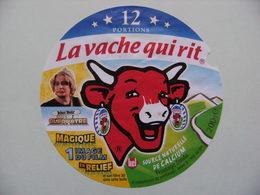 Etiquette Fromage Fondu - Vache Qui Rit - 12 Portions Bel Pub Astérix&Obélix Mission Cléopatre Et Clavier  A Voir ! - Cheese