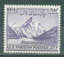 Pakistan: 1954   Conquest Of K2    MNH - Pakistan