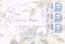 28301. Carta JANOV (Republica Checa) 1997 To Germany - República Checa