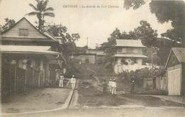 GUYANE CAYENNE  La Montée Du Fort Cépèros    2scans - Cayenne
