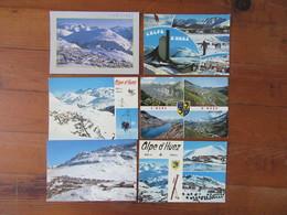 Lot De 6 Cartes De L'Alpe D'Huez    ( Isère )   Station   Neige - Postcards
