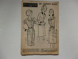 """2 Patrons Extrait De """"Pour Vous Madame"""" Mode De Paris. - Other Collections"""