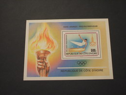 COTE D'IVOIRE - BF 1979 PREOLIMPIADE - NUOVO(++) - Ivory Coast (1960-...)