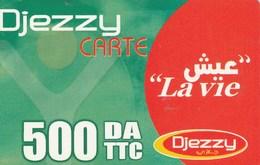 Algeria - La Vie (Big Logo Djezzy) - Algeria
