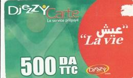 Algeria - La Vie (Small Logo Djezzy) - Algeria