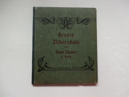 Livre De Partition Musicale Grosse Zitherschule Von Hans Thauer De Zither-Musik Hamburg (Allemagne). - Musique & Instruments