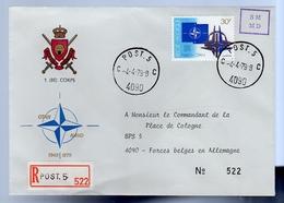 Post-5-4090 Nato Otan > Commandant De La Palce De Cologne Forces Belges En Allemagne Germany (335) - Belgium