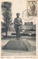D33230 CARTE MAXIMUM CARD 1939 FRANCE - LEON TRULIN MONUMENT LILLE - BELGIAN SPY WW I EXECUTED CP ORIGINAL - Maximum Cards