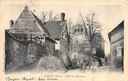 CPA 60 AGNETZ RUE DE CLERMONT  1903 - Autres Communes