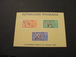TOGO  - 1966 BF CALCIO, (bordo Pieghe)  - NUOVO(++) - Togo (1960-...)