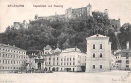 Autriche - Salzbourg Salzburg - Kapitelplatz Und Festung - Salzburg Stadt