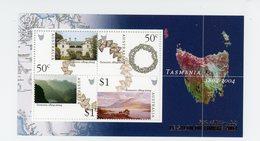 Australie 2004-Coquillage, Etablissement Des Européens En Tasmanie-Paris Salon Du Timbre-B83***MNH - Conchiglie