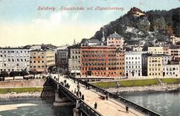 Autriche - Salzbourg Salzburg - Staatsbrücke Mit Kapuzinerberg - Salzburg Stadt