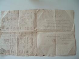 DOCUMENT 1835 Médecine Pharmacie Contre Maladies Vénériennes Par Charles ALBERT   2scans - Documenti Storici