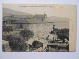 Monaco Collège De La Visitation - Façade ? - Monaco
