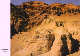 Cartolina Postale QUMRAN - THE CAVES - Deserto Giudaico - Cisgiordania - Jordanie