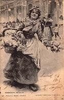 Espagne - Vendedora De Lilas   - 1905 -  SC72-4  - R/V - Espagne