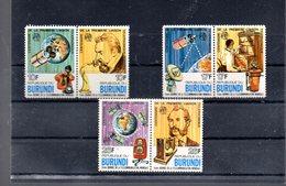 BURUNDI 703/708** SUR LE CENTENAIRE DE LA 1ERE LIAISON TELEPHONIQUE - 1970-79: Neufs