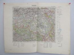 Übersichtskarte Von Mitteleuropa - J 52 - Antwerpen - Other