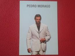 TARJETA TIPO TAMAÑO POSTAL POST CARD CARTE POSTALE PUBLICIDAD PUBLICITARIA PEDRO MORAGO MODA 97 98 COLECCIÓN 1997 1998 - Moda