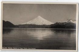 Chile-Chili :volcan Ogorno Y Lago Todos Los Santos    (années 30) (PPP8387) - Chile
