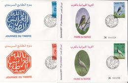 MAROC Année 1997 - LOT De 4 ENVELOPPES PREMIER JOUR FDC - Morocco (1956-...)