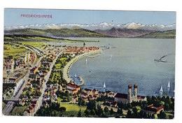 Jolie CP Coul. Allemagne, Friedrichshafen. A Voyagé En 1946 - Friedrichshafen