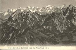10947544 Rochers De Naye Les Alpes Bernoises  Rochers De Naye - VD Vaud