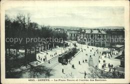 62192383 Geneve GE Place Neuve Eingang Bastion / Genève /Bz. Geneve City - GE Geneva