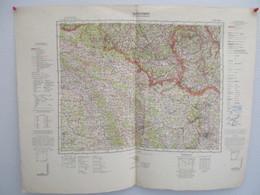 Übersichtskarte Von Mitteleuropa - J 50 - Metz / 1:300000 - Other