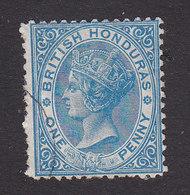 British Honduras, Scott #4, Used, Victoria, Issued 1872 - Brits-Honduras (...-1970)