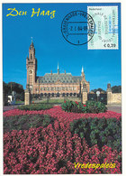 D33250 CARTE MAXIMUM CARD FD 2004 NETHERLANDS - PEACE PALACE THE HAGUE CP ORIGINAL - Architecture