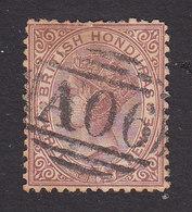 British Honduras, Scott #5, Used, Victoria, Issued 1872 - Honduras Britannique (...-1970)