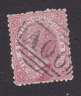 British Honduras, Scott #6, Used, Victoria, Issued 1872 - British Honduras (...-1970)