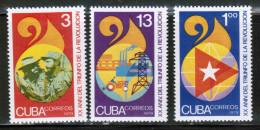 CU 1979 MI 2363-65 - Cuba
