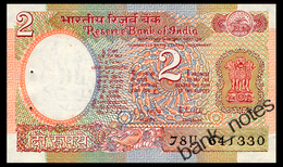 INDIA 2 RUPEES ND(1976) Pick 79i Unc - Nepal