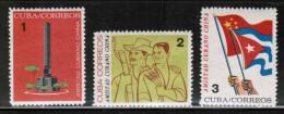 CU 1964 MI 890-92 - Cuba