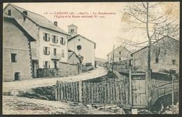 04  LARCHE  ( ALPES- HTE- PROVENCE ) BOULANGERIE...GENDARMERIE..EGLISE.....C26122 - France