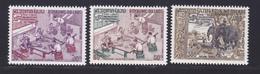 LAOS N°  201 & 202, AERIENS N° 58 ** MNH Neufs Sans Charnière, TB (D6877) Organisation Internationale Du Travail - Laos