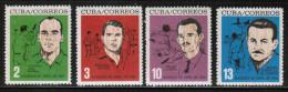 CU 1964 MI 879-82 - Cuba