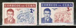 CU 1962 MI 801-02 - Cuba
