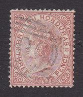 British Honduras, Scott #9, Used, Victoria, Issued 1877 - British Honduras (...-1970)
