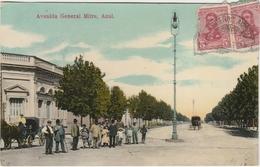 Argentine, Azul . Avenida General . - Argentina